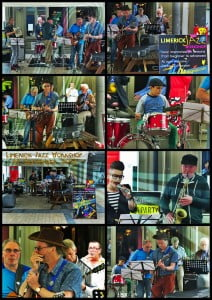 Photo collages from Jazz on the Streets!