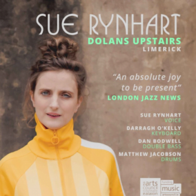 Sue Rynhart – Wed, Nov 28, 21:15 – €10 (Dolan's Upstairs)